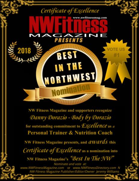 Body By Dorazio – Personal Training – Ironworks Gym   NW Fitness
