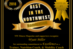 Wyatt Miller NW Fitness Magazine Best in the NW