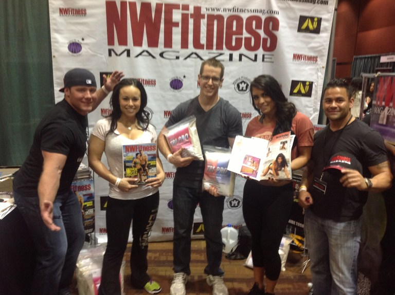 NW Fitness Mag Vendor Booth