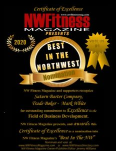 Best In The NW - Mark White - Trade Broker - Saturn Barter Company